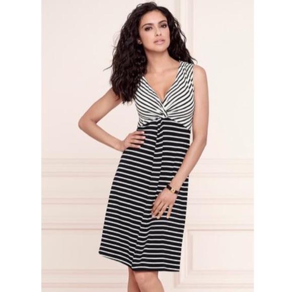 Soma Dresses & Skirts - NWT Soma Sandra Dress Amuse And Aerial Stripe